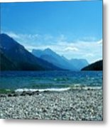 Waterton Beachcomber Metal Print