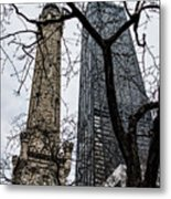 Watertower Chicago Metal Print