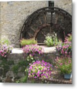 Waterwheel In Bayeux Metal Print