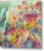 Watery World 2 Metal Print