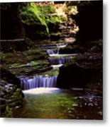 Watkins Glen Gorge In Summer Metal Print