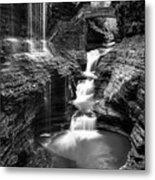 Watkins Glen Rainbow Falls #2 Metal Print