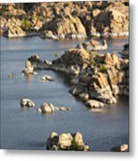 Watson Lake Adventures Metal Print