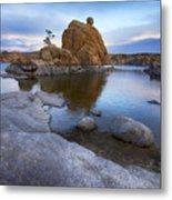 Watson Lake Arizona 14 Metal Print