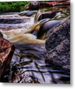 Wausau Whitewater Course Side View Metal Print