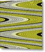 Wave Abstract Metal Print