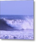 Wave At Jersey Shore Metal Print