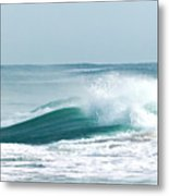 Wave Collision During Hurricane Irene Metal Print
