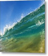 Wave - Makena Beach Metal Print