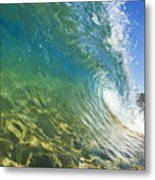Wave - Makena Metal Print