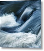 Wave Of The Veil On The River Metal Print