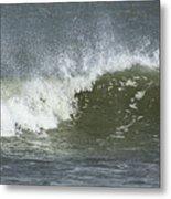 Wave Study Metal Print