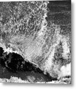 Wave Texture Metal Print