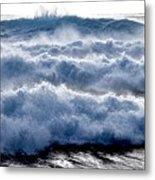 Wave Upon Wave Upon Wave Metal Print