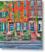 Waverly Place Townhomes Metal Print