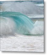 Waves End Metal Print