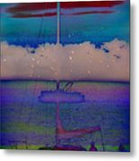 Waves Of Emotion Metal Print