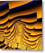 Waves Of Grain Metal Print