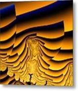 Waves Of Grain Metal Print