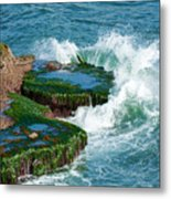 Waves Of La Jolla Metal Print