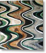 Waves Of  Life Metal Print