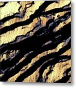 Waves Of Time 3 Metal Print