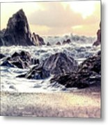 Waves Of Time Metal Print