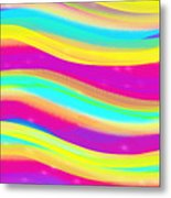 Waves Of Wishes Metal Print
