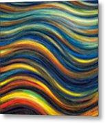 Wavescape Metal Print