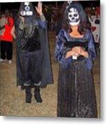 Waving Ghoul Cinematographer Halloween Casa Grande Arizona 2004 Metal Print