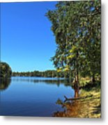 Way Down Upon The Swuanee River In Hdr Metal Print