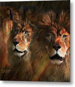Way Of The Lion Metal Print