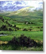 Way To Ardara Ireland Metal Print