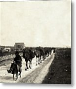 Way To Bethlehem Metal Print