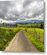 Way To Orio, Spain Metal Print