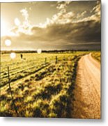 Way To Policemans Point Tasmania Metal Print