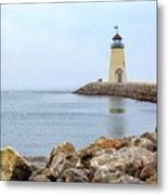 Way To The Lighthouse Metal Print