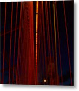 Way Up There In The Veil Metal Print