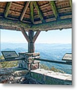 Wayah Bald Observation Tower - Macon County, North Carolina Metal Print