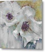 Wayside Flowers Metal Print