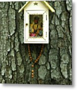 Wayside Shrine Metal Print