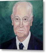Wc Brown Commsioned Portrait Metal Print