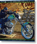 Wcc Pay Up Metal Print
