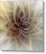 We Are All Connected Soft Abstract  Metal Print