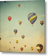 We Are Floating In Space Metal Print by Irene Suchocki