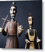 We Are From The Church And We Are Here To Help  Metal Print