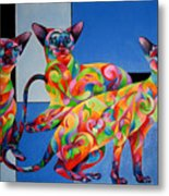 We Are Siamese If You Please Metal Print