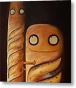 We Are So Different But We Are Together Metal Print