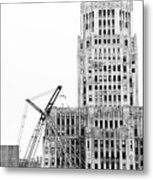 We Built This City Metal Print