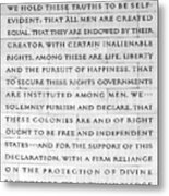 We Hold These Truths.... Metal Print
